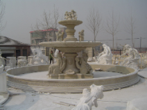 Large Marble 3 tier Fountain