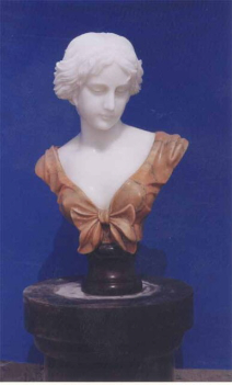 Marble English Lady Bust