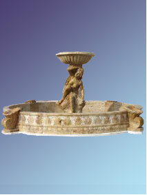 Lady with Bowl Fountain