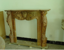 Scalloped Surround Mantle
