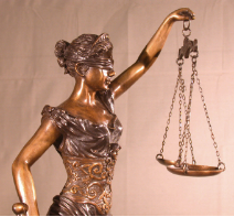 Sm Lady Justice Bronze Statue