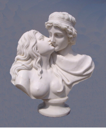 Marble Sculpture Love's First Kiss