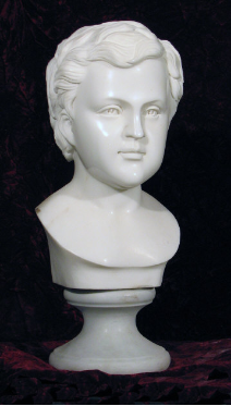 Marble Youth Bust