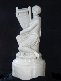 Woman with Pot Fountain