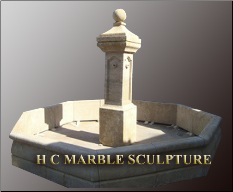 Limestone Marble Fountain
