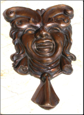 Carnival Door Knocker (SKU: HCBdkn29012)