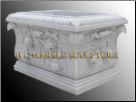 Rectangle Planter w/ Roses