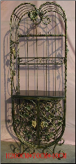 Wine Rack with Glass Rack