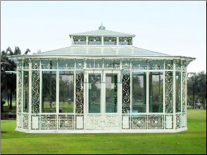 Wrought Iron Gazebo No 01