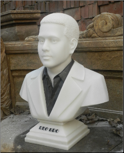 Custom Marble Bust of Tim