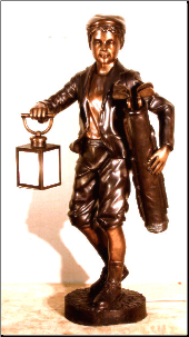 Classic Little Golfer Bronze Sculpture