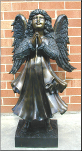 Bronze Child Angel Large