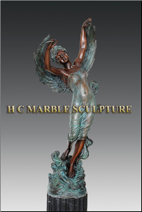 Angel on Seaspray Bronze Statue