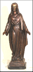 Bronze Table Top Statue of Joseph