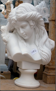 Flowing Hair Bust
