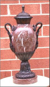 Marble Urn with Handles