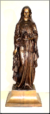 Bronze Statue of Mary
