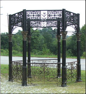 Gazebo w Dome & Side Rails