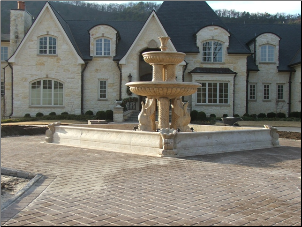 Custom Marble Fountain