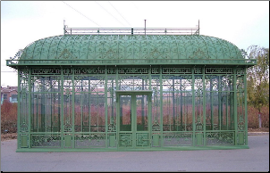 Wrought Iron Greenhouse No 1