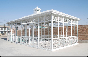 Wrought Iron White Pavilion No 1