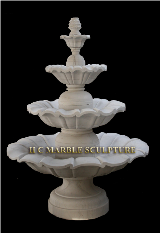 * Marble 3 & 4 Tier Fountains
