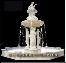2 Tier Maiden w/ Merboy Marble Fountain