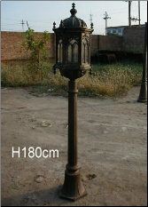 Cast iron Tall Single light no 4