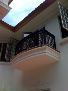 Custom Wrought Iron Balustrade Sm