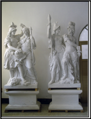 Marble Roman Statues