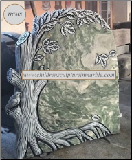 GREEN TREE HEADSTONE