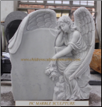 Weeping Angel Headstone