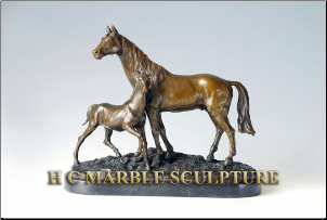 * SMALL CAST BRONZE ANIMAL STATUES