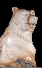 Standing Bear Statue with Cub, Right or Left