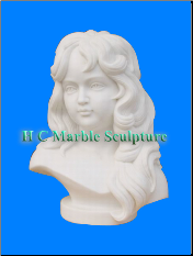* MARBLE BUSTS SCULPTURE