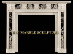 Marble Mantle Classic Style