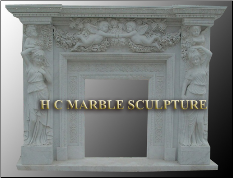 Surround Marble Mantle