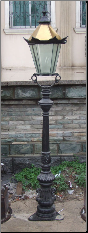 Cast iron Tall Single light no 5