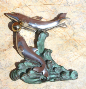 Dolphin Door Knocker