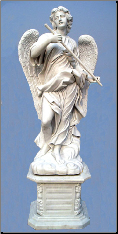 Saint Angelo's Angels Statue W/ Base ( C )