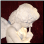 Whispering Angel Marble Sculpture