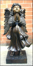 Bronze Child Angel Small