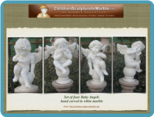 Baby Angels - Marble Statue Buy 1 or Set of 4