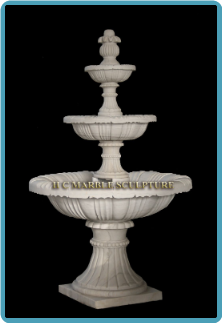 3 Tier Marble Fountain