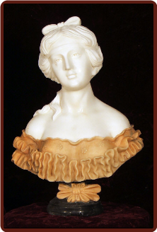 Marble Bust Isabella