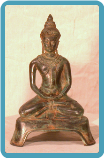 Bronze Sculpture Sitting Buddha
