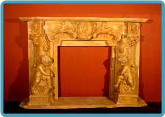 Cherub Marble Mantle