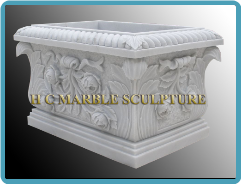 Marble Planters & Urns