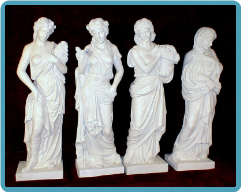 Four Seasons Marble Statues