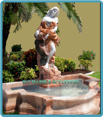 Marble Figure Fountains